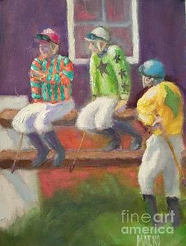 Three Jockeys by Mark Macko