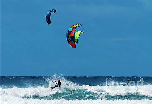 Three Kites by Mike Dawson