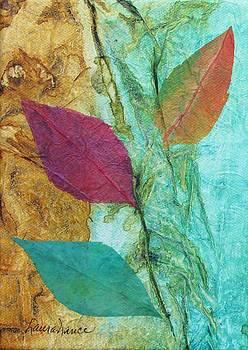 Three Leaves by Laura Nance