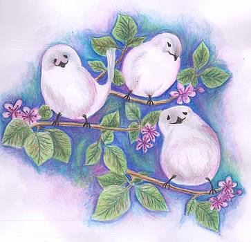 Three Little Birds by Cherie Sexsmith