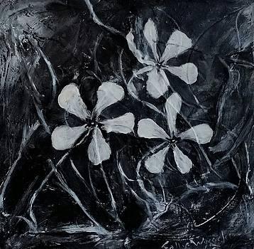 Three Little Flowers by Sallie Wysocki