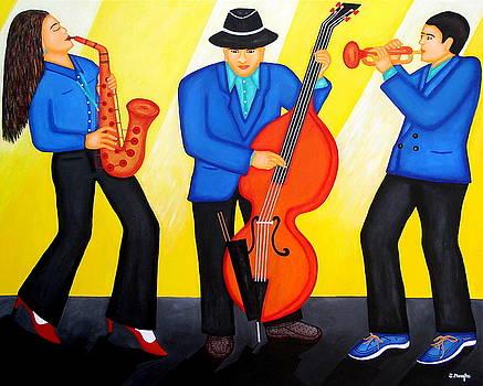 Three Musicians  by Jacky Phaengtho