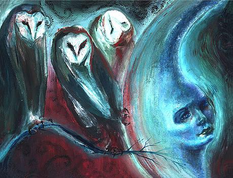Three Owls by Ragen Mendenhall