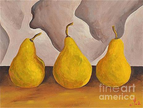 Three Pears  by Herschel Fall