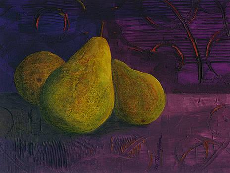 Three Pears by Mary Elizabeth Thompson