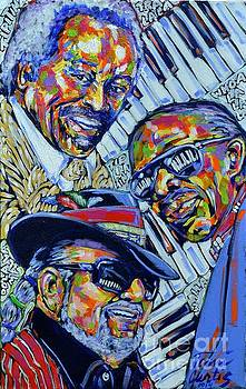 Three Piano Men by Tami Curtis