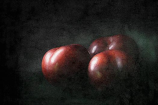 Three Plums by Robert Meyerson
