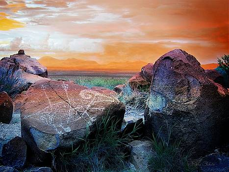 Three Rivers Petroglyphs by Barbara Chichester
