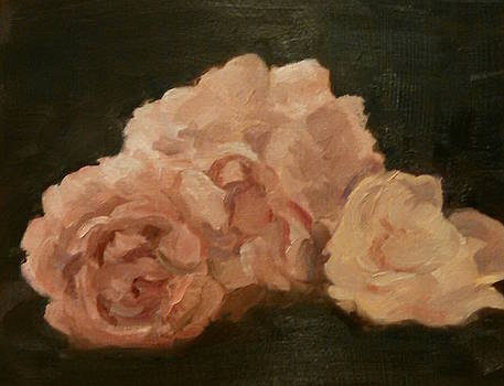 Three Roses by Marcia Hochstetter