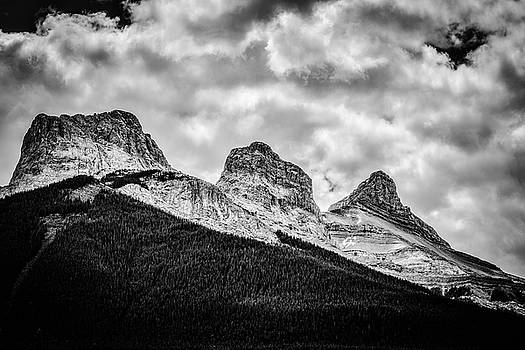 Three Sisters Alberta by Karl Anderson