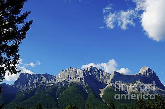 Wayne Moran - Three Sisters Ridges Canmore Alberta Gateway to Banff National Park