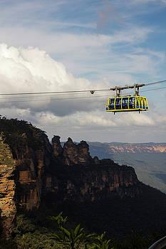 Three Sisters Sky Tram, Australia by Cassandra NightThunder