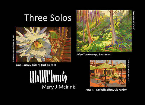 Three Solos postcard by Mary McInnis