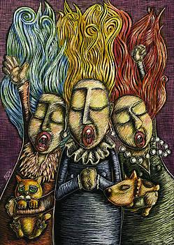 Three Sopranos by Teresa Nolen Pratt