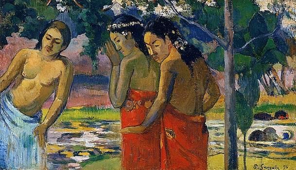 Gauguin - Three Tahitian Women