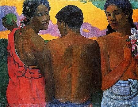 Gauguin - Three Tahitians