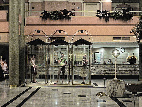Chris Honeyman - Three teenagers, Seville 2005