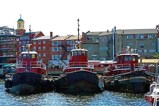 Three Tugs by John Ellis