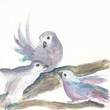 Three Turtle Doves by Joyce Casey