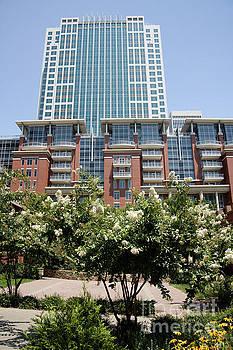 Three Wells Fargo Center and Ratcliffe Condos by Jill Lang