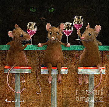 Three Wined Mice... by Will Bullas