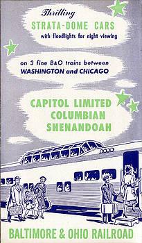 Thrilling Strata-Dome Cars by Baltimore and Ohio Railroad