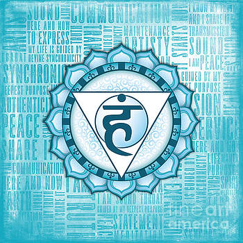 Throat Chakra - Awareness by David Weingaertner