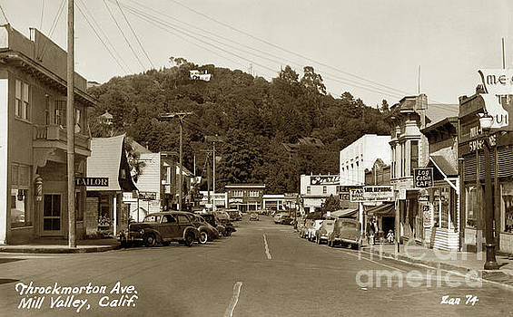 California Views Mr Pat Hathaway Archives - Throckmorton Avenue, Mill Valley Circa 1941