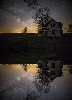 Through a mirror darkly  by Aaron J Groen