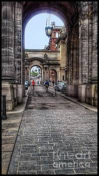 Through The Arches at George Street by Joan-Violet Stretch