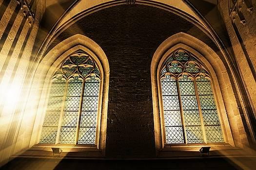 Through the Church Windows by Digital Art Cafe