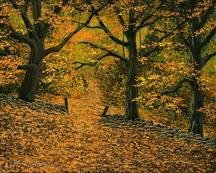 Frank Wilson - Through The Fallen Leaves
