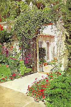 Through The Garden Gate by David Lloyd Glover