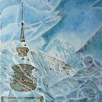 Through the ice by Danielle Arnal