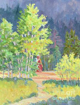 Through the Meadow by Rhett Regina Owings