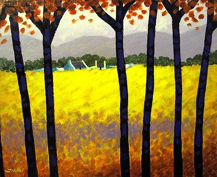 Through The Trees by John  Nolan