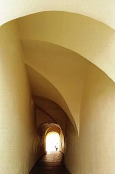 Through The Tunnel by Marinela Feier