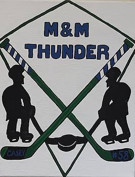 Thunder hockey by Jonathon Hansen