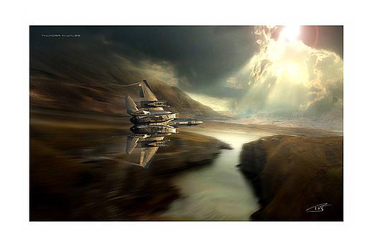 Thunder In Wales by Peter Van Stigt