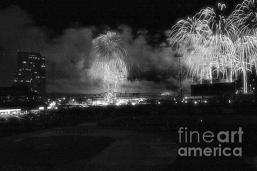 Thunder Over Louisville in Infrared by Matthew Winn