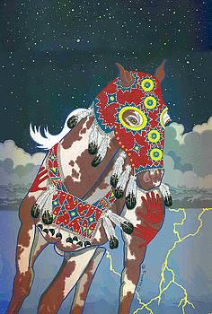 Thunder Pony II by Chholing Taha