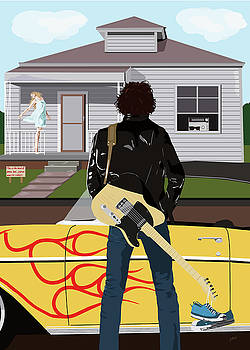Bruce Springsteen - Thunder Road by Jarod