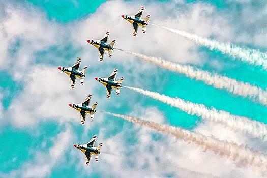Thunderbirds - All 6 by Bill Gallagher