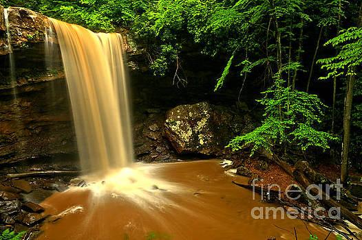 Adam Jewell - Thundering Over Cucumber Falls