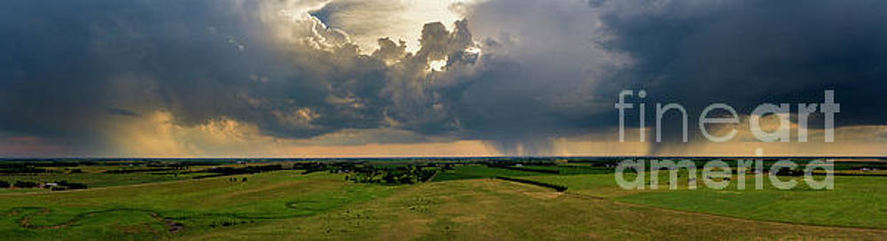 Thunderstorm on the Prairie by Patrick Ziegler