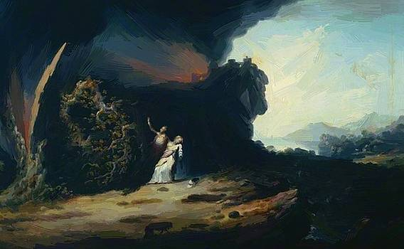 Williams William - Thunderstorm With The Death Of Amelia 1784