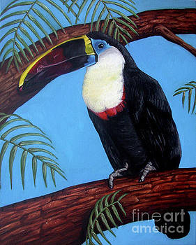 Thurston the Toucan by Rebecca Tiano
