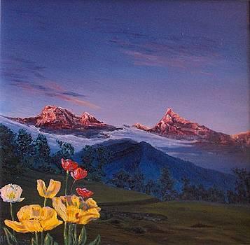 Tibet. Himalaya.Kangchenjunga  by Alexander Bukhanov