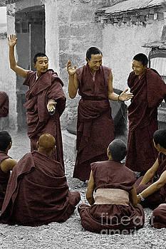 Craig Lovell - Tibetan monks debating - Sera Monastery, Lhasa
