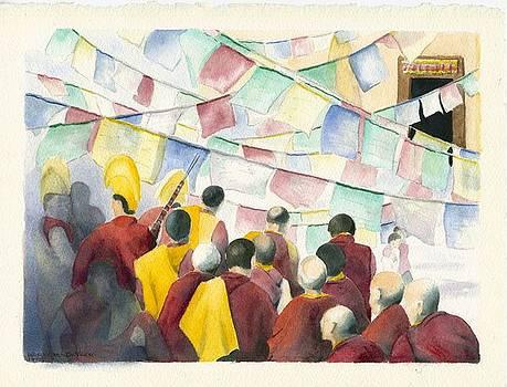 Tibetan New Year by Wicki Van De Veer